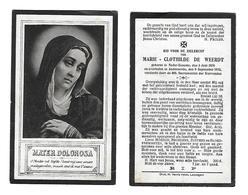 37a BP.De Weerdt Neder-Eename 05 Juni 1876 Oudenaarde 9 Sept. 1925 - Godsdienst & Esoterisme