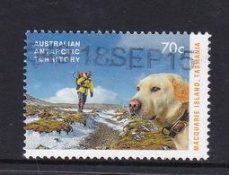 Australian Antarctic Territory  S 228 2015 Dog Saved Macquarie Island,70c Used, - Used Stamps