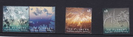 Australian Antarctic Territory  S 236-239 2016 Ice Flowers,Mint Never Hinged - Used Stamps