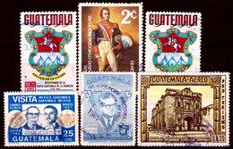 Guatemala-0166 - Emissione Di P.A. Dal  1967 (o) Used - - Guatemala