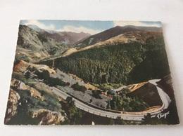 66 - La Cerdagne Française Route De Mont-Louis à Prades Colorisée - France