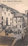 """07890 """"(FROSINONE)  ARPINO - CHIESA DI S. ANDREA AL COLLE""""  ANIMATA. CART NON SPED - Frosinone"""