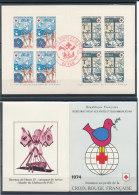 Carnet Croix Rouge 1974 Plié Et Oblitéré - Markenheftchen