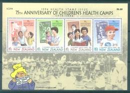 NEW ZEALAND - MNH/** - 1994 - HEALTH - Yv Bloc 95 Mi Bl 43 SG MS1817 Sc B148a  - Lot 17159 - Blocks & Sheetlets