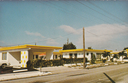 Hollywood Florida - Tower Motel - Written - 2 Scans - United States