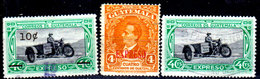 Guatemala-0167 - Espressi 1940-1951 (+/o) Hinged/Used - - Guatemala
