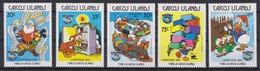 2131  WALT DISNEY  CAICOS ISLANDS  ( CHRISTMAS 1984 ) - Disney