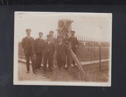 Photo Denkmal Der Franzosen An Der Chausseee Von Belle Alliance 1916 - Ieper