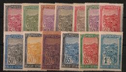 Madagascar - 1922-26 - N°Yv. 131 à 143 - Série Complète - Neuf Luxe ** / MNH / Postfrisch - Madagaskar (1889-1960)