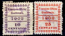 Guatemala-0171 - Servizio 1902 (o) Used - - Guatemala
