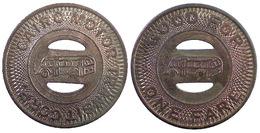 00972 GETTONE JETON TOKEN TRASPORTO TRAMWAY ILLINOIS, CAIRO 1948 - Unclassified
