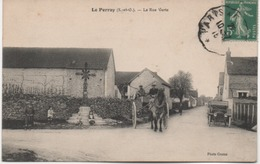 LE PERRAY  LA RUE VERTE  BEAU PLAN - Le Perray En Yvelines