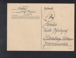 Dt. Reich Feldpost 1940 Frankreich FPNr 13504 - Deutschland
