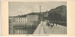 AK Jena, Vue Sur Le Pont De La Saal - Saale-Hafen - Jena
