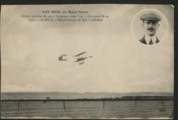 VAN MEEL Sur Biplan FARMAN - Airmen, Fliers