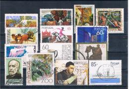 Portugal Kleines Lot 14 Verschiedene Gestempelt - Collections