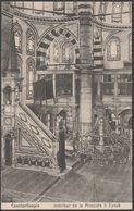 Intérieur De La Mosquée à Eyoub, Constantinople, C.1910s - Au Bon Marché CPA - Turkey