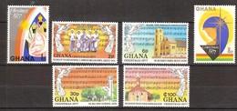 Kerstmis Noel 1977 Ghana Yvertnr. 597-602 *** MNH - Ghana (1957-...)