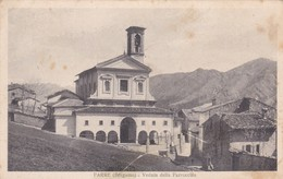 CARTOLINA - POSTCARD - BERGAMO - PARRE - VEDUTA DELLA PARROCCHIA - Bergamo