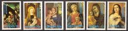 Kerstmis Noel 1981 Ghana Yvertnr. 597-602 *** MNH Cote 7,75 Euro Christmas - Ghana (1957-...)