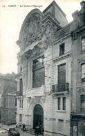 N°1340 A -cpa Caen -la Caisse D'Epargne- - Banques