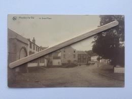 GENAPPE,HOUTAIN-LE-VAL «LA GRAND'PLACE «Panorama,animée,attelage,charrettes(O.Cardona-Tournay) NELS . - Genappe