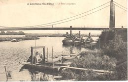 (78) Yvelines - CPA - Conflans Saint Honorine - Le Pont Suspendu - Conflans Saint Honorine