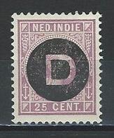 Niederländisch Indien NVPH D5, Mi D5 * - India Holandeses