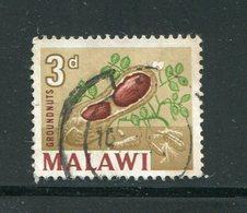 MALAWI- Y&T N°4- Oblitéré (cacahuète) - Malawi (1964-...)