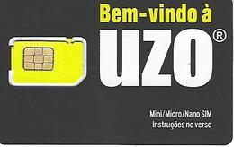 Mobil Phonecard - UZO Mini, Micro E Nano SIM - Portugal - Portugal