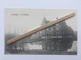 GENAPPE-LOUPOIGNE  «LE CHÂTEAU»Panorama,animée,étang  (Édit René BERGER) - Genappe