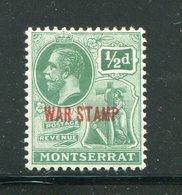 MONTSERRAT- Y&T N°53- Neuf Avec Charnière * - Montserrat