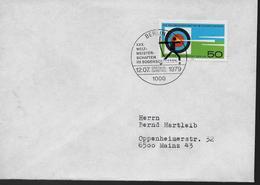 ALLEMAGNE BERLIN  FDC 1979     Tir A L Arc - Bogenschiessen