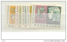 1953 MNH Nederland, Nvph 612-16, Posffris - 1949-1980 (Juliana)