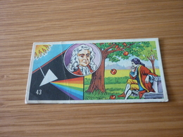 Isaac Newton Maths Astronomer Old Greek MELO '70s Game Trading Card - Trading Cards