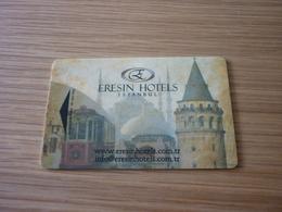 Turkey Istanbul Eresin Hotel Room Key Card (Hagia Sophia) - Hotel Keycards