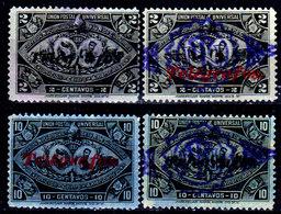 Guatemala-0176 - Telegrafo 1898 (o) Used - - Guatemala