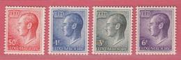 1965 ** (sans Charn., MNH, Postfrisch)  Yv  661/2 – 665 - 667 Mi  710/3 - Luxembourg