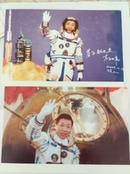 North Korea 2004 Postal Cards China Shenzhou V Spaceman Yang Liwei - FDC & Commemorrativi
