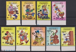 2136  WALT DISNEY - COMMONWEALTH Of DOMINICA  ( INTERNATIONAL YOUTH YEAR 1985 ) - Disney