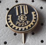 TTU Tuzla Factory Of Transport Equipment  Bosnia Ex Yugoslavia Pin - Transportation