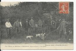Proissac     Chasse Au Blaireau - Francia