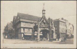 Poultry Cross, Salisbury, Wiltshire, C.1910 - Kingsway RP Postcard - Salisbury