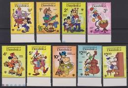 2137  WALT DISNEY  COMMONWEALTH Of DOMINICA  ( INTERNATIONAL YOUTH JEAR 1985 ) - Disney