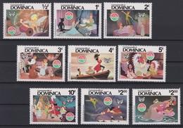 2139  WALT DISNEY - COMMONWEALTH Of DOMINICA  ( CHRISTMAS 1980 )  PETER PAN . - Disney