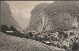 Lauterbrunnen Und Grosshorn, Bern, C.1940s - Gabi Foto AK - BE Berne