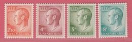 1971 ** (sans Charn., MNH, Postfrisch)  Yv  778/1Mi  828/31 - Luxembourg