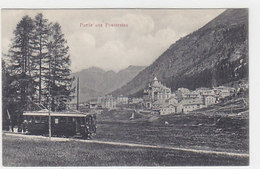 Berninabahn Bei Pontresina - 1909         (P-145-60618) - Trains