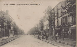 La Garenne Colombes : Le Boulevard De La République - La Garenne Colombes
