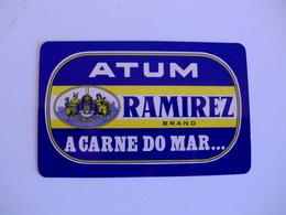 Atum Ramirez Leça Da Palmeira Portugal Portuguese Pocket Calendar 1985 - Calendars